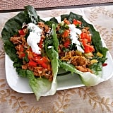 With a few healthy swaps, you can enjoy Taco Tuesday every day. Swap out tortillas for romaine lettuce and sour cream for Greek yogurt. You can also make things lighter by opting for ground chicken or turkey instead of beef.