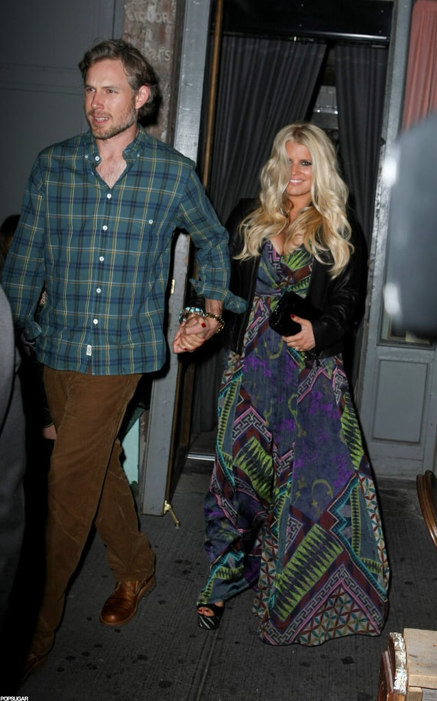 Jessica Simpson and Eric Johnson had a date night.