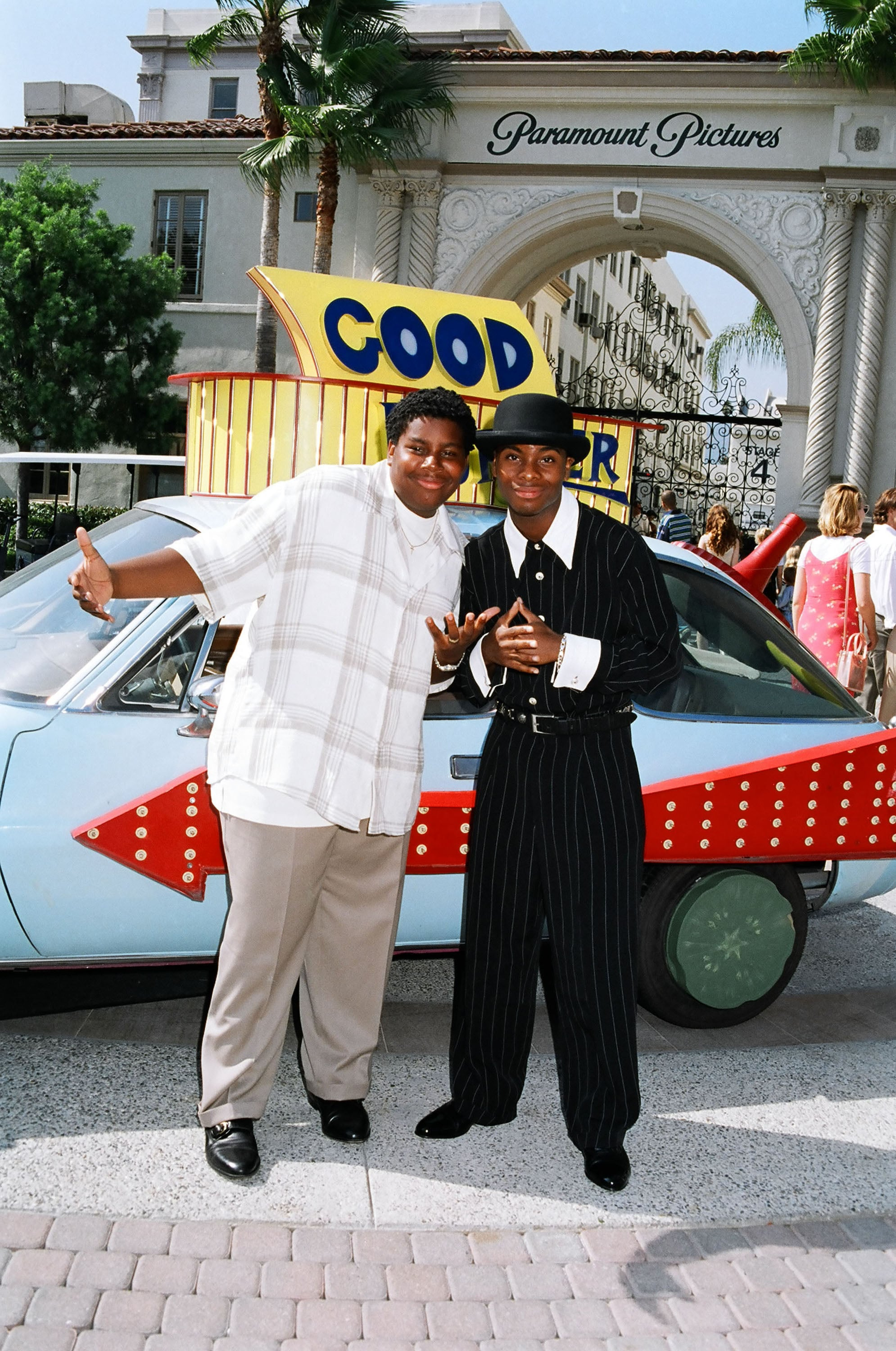 Kenan Thompson and Kel Mitchell during