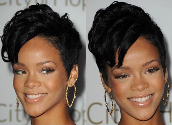 Rihanna's Hair at 2008 Spirit of Life Award Dinner