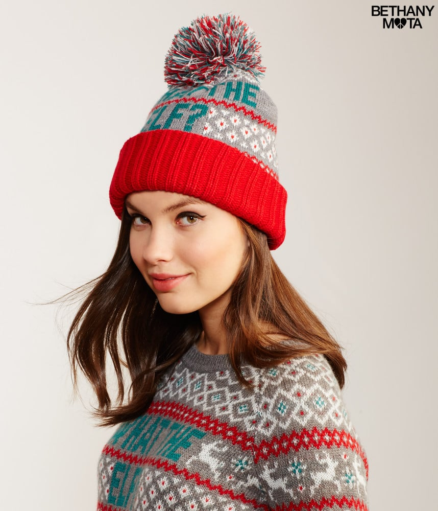 Aeropostale Women s What the Elf Knit Beanie ( 12)  04aea4913de2