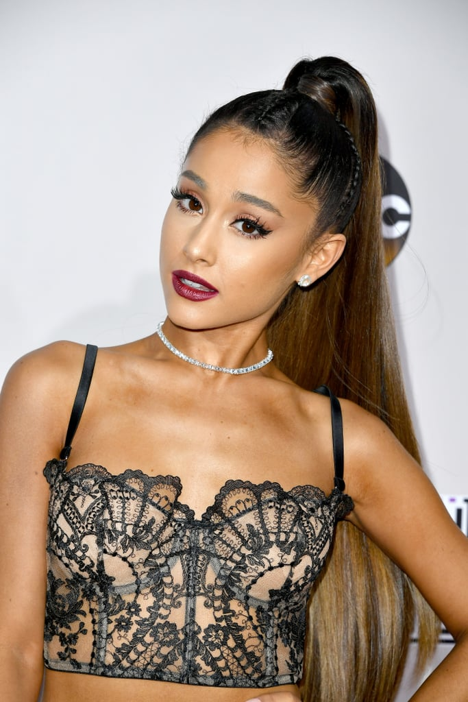 Ariana Grande Hair And Makeup At American Music Awards