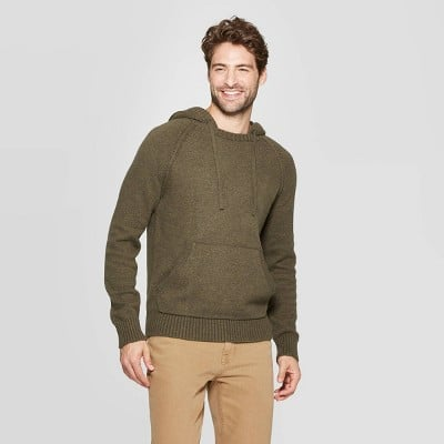 Goodfellow & Co.™ Men's Standard Fit Hooded Pullover Sweater