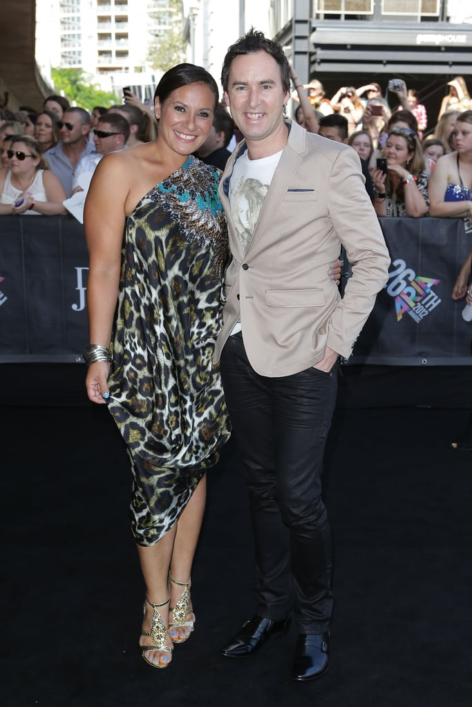 Eileen Stapleton and Damien Leith