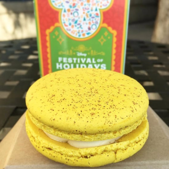 Disneyland Eggnog Macarons