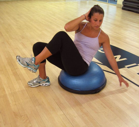 Bosu Ball Side Jumps: Best Ab Exercises On The BOSU