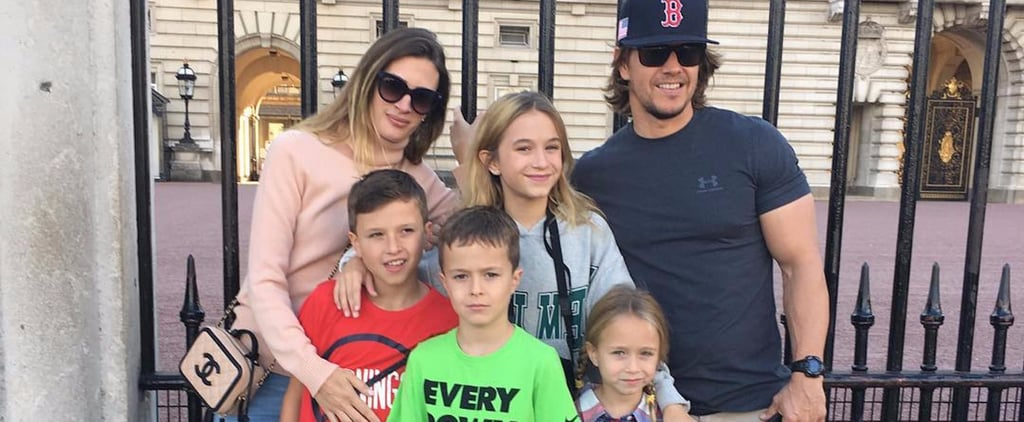 21 Photos of Mark Wahlberg and His Kids That Prove He's a Big Softie