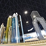 Legoland Dubai Replica of Sheikh Zayed Road Skyline