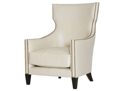 Desire/Acquire: Ivory Nailhead Armchair