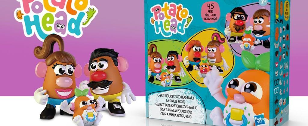 Hasbro Introduces Gender-Neutral Potato Head Family Toys