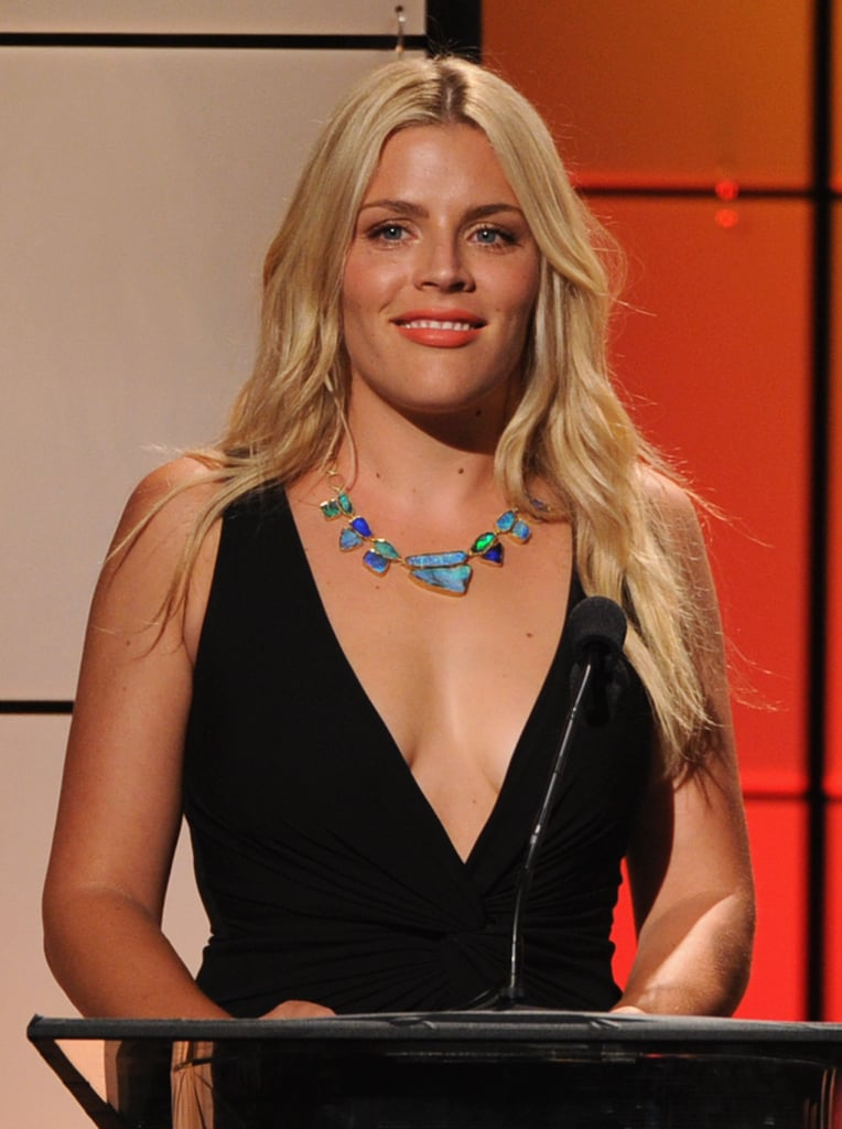 Busy Philipps spoke on stage at the Critics' Choice Television Awards in LA.