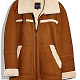 Madewell Genuine Shearling Motorcycle Jacket