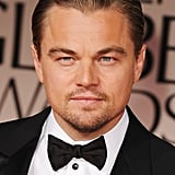 Leonardo DiCaprio at the Golden Globes.