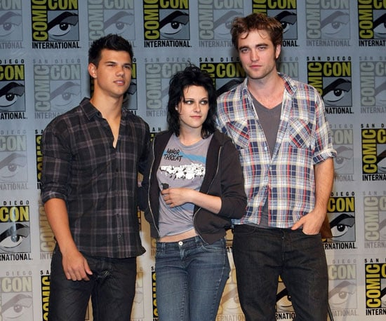 Slide Photo of New Moon at Comic Con