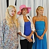 Allison, Angelea, and Lisa on America's Next Top Model.  Photo courtesy of The CW