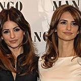 Mónica and Penélope Cruz
