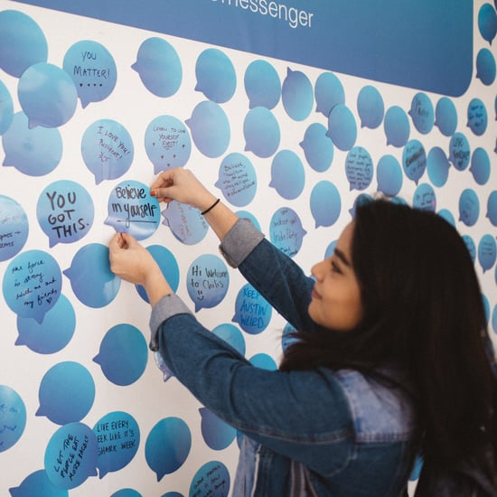Facebook Messenger Messages That Matter Wall at SXSW 2018