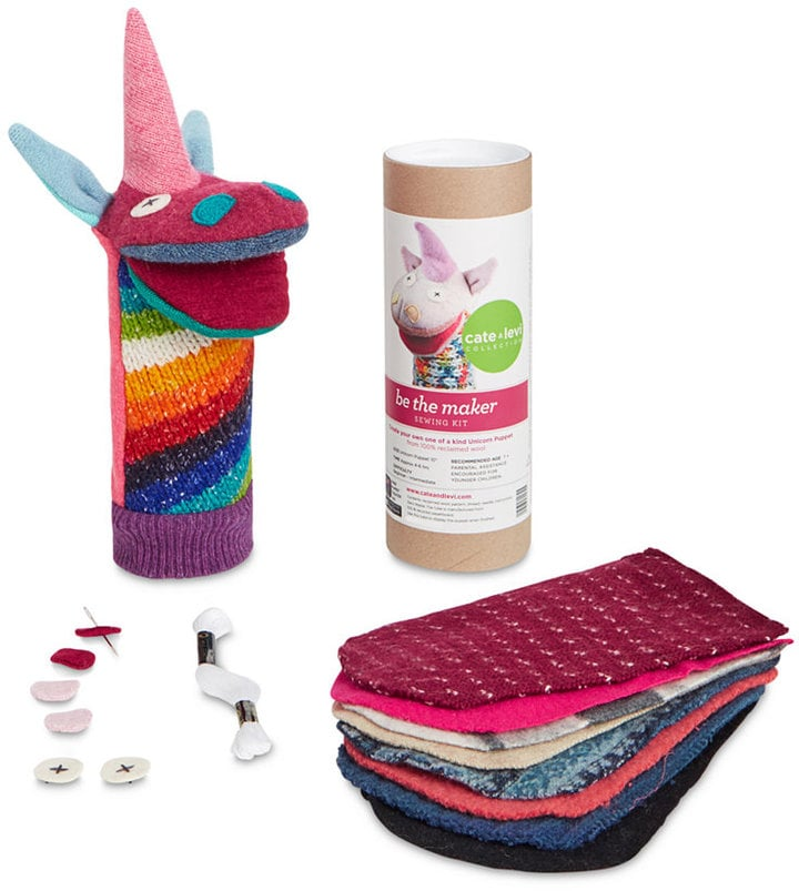 Unicorn Toys For Kids : Cate levi unicorn diy puppet kit toys for kids