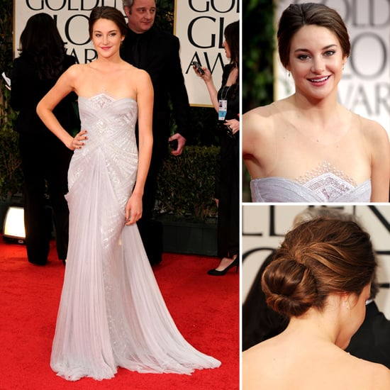 Shailene Woodley at Golden Globes 2012