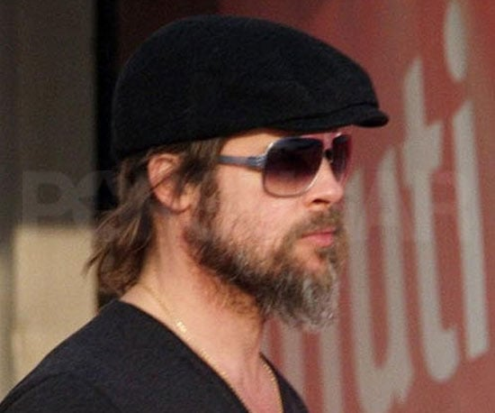 Hot When Hairy | Pictures of Brad Pitt's Beard in 2010 ...