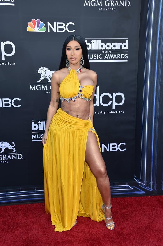 Cardi B Billboard Music Awards Crop Top and Skirt 2019