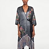 Zara Embroidered Sequin Dress