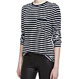 Zadig & Voltaire Striped Jersey Tee