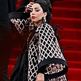 Her Very First Strut Up the Met Gala Stairs