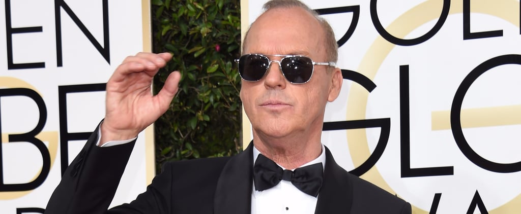 Reactions to Michael Keaton at the 2017 Golden Globes