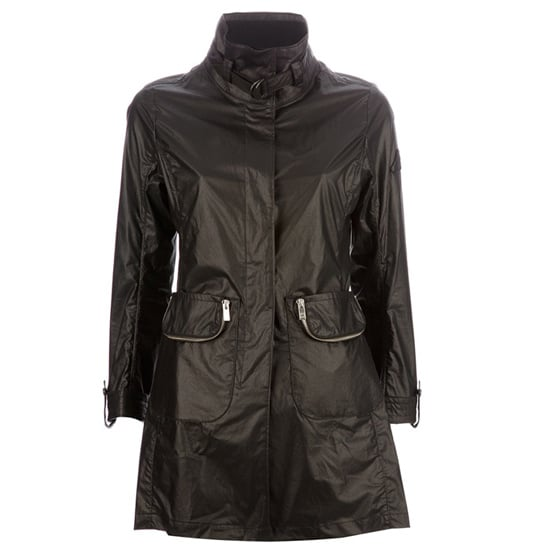 Raincoat, approx $515, Hogan at Tessabit.