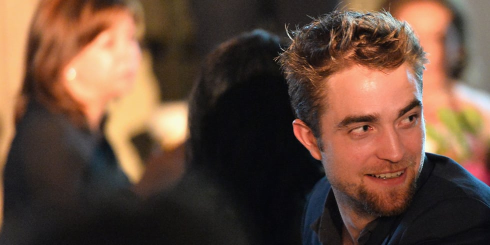 Robert Pattinson With a Goatee   Pictures