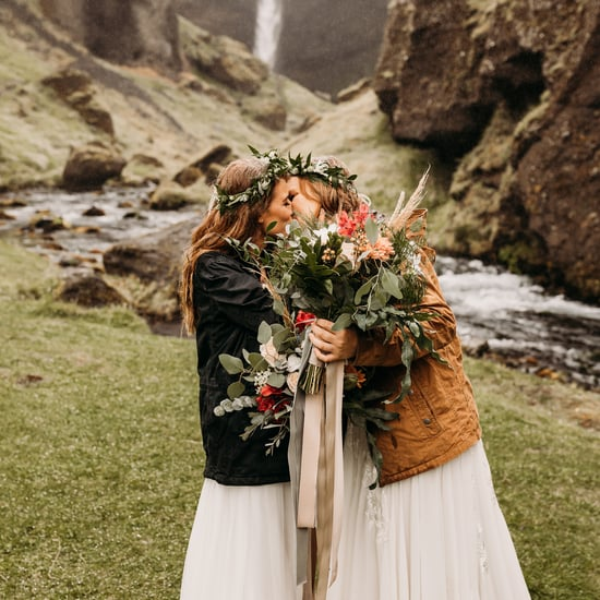Rainy Elopement in Iceland