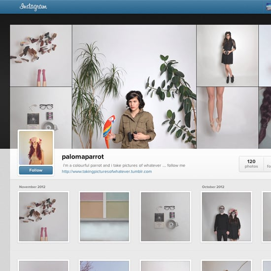 how to change profile view instagram