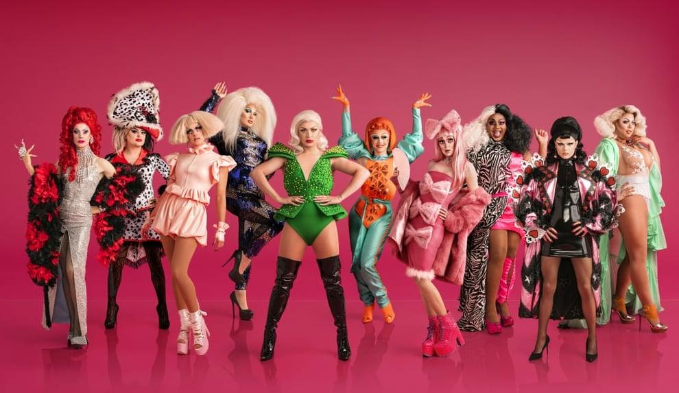 Meet the Cast of RuPaul's DragRace UK Season 1