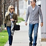 Reese Witherspoon and Jim Toth shared a laugh during a Jan. 2012 stroll in LA.