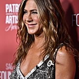 Jennifer Aniston's Printed John Galliano Slip Dress