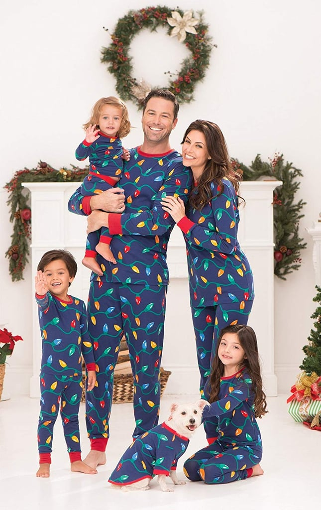 matching family christmas pajamas popsugar family