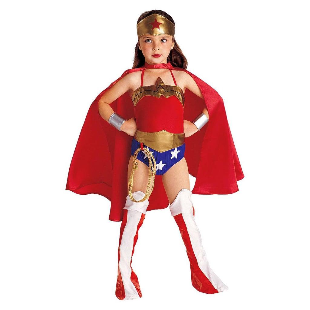 DC Comics Girls' Wonder Woman Costume   Best Kids' Halloween