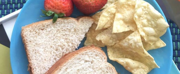 Adult Peanut Butter and Jelly Sandwich