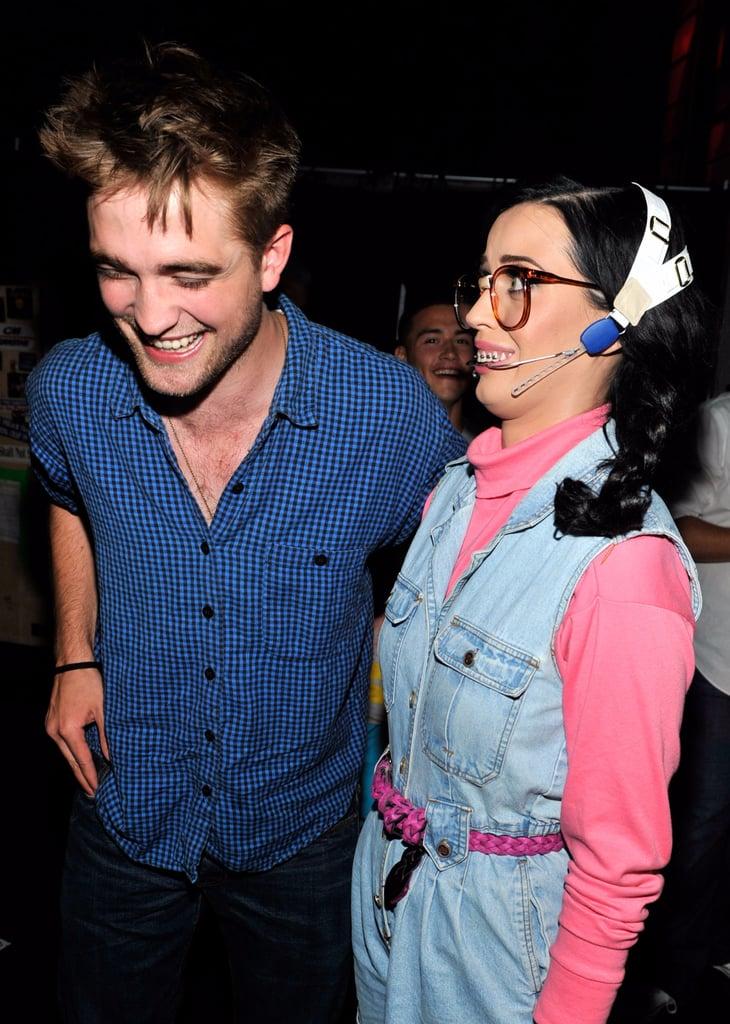 Katy Perry and Robert Pattinson Photos