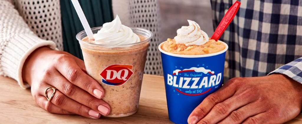 Dairy Queen's New Pumpkin Cookie Butter Milkshake Photos