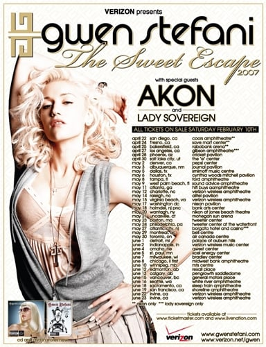 Gwen Going on Tour with Lady Sovereign