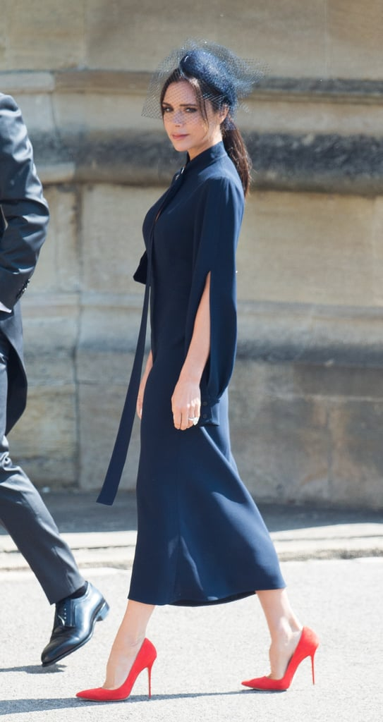 Victoria Beckham at Prince Harry and Meghan Markle's Wedding