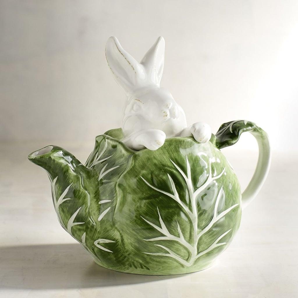Garden Bunny Cabbage Teapot ($20 originally $25)
