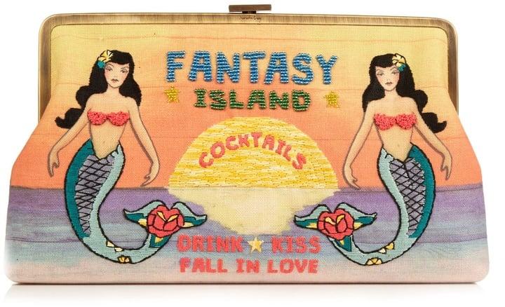 Sarah's Bag Fantasy Island Bead-Embellished Clutch ($582)