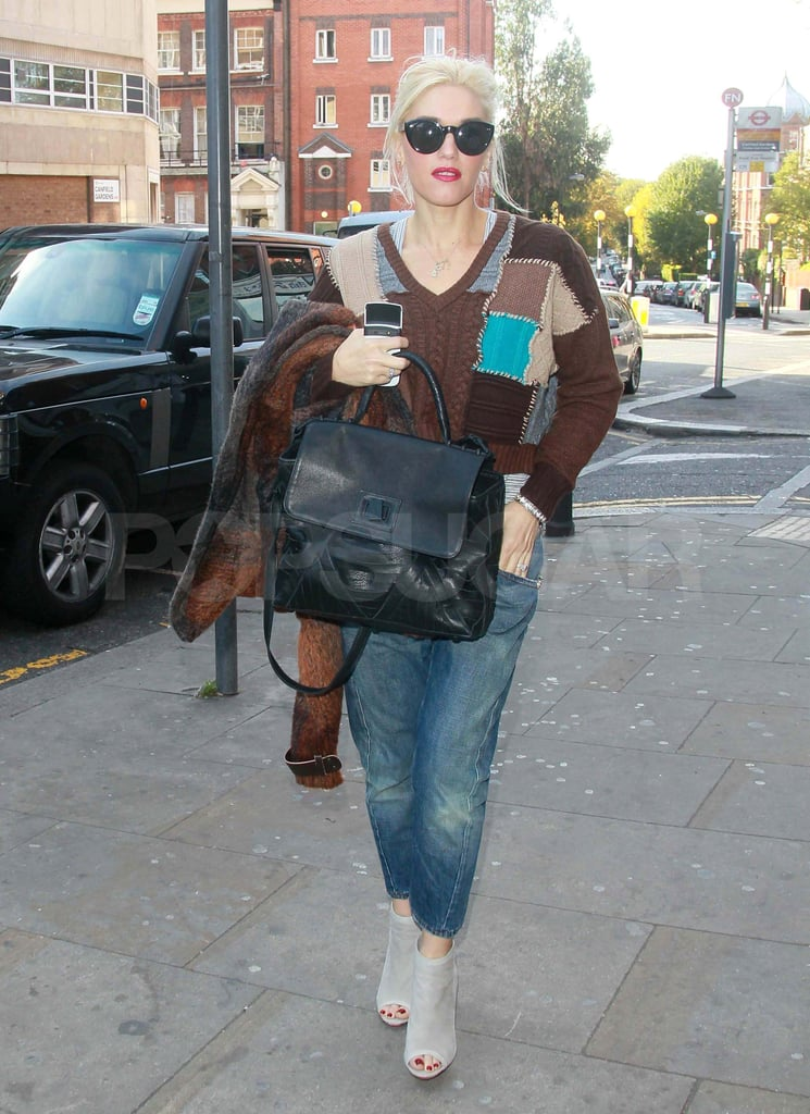Gwen Stefani out in London.