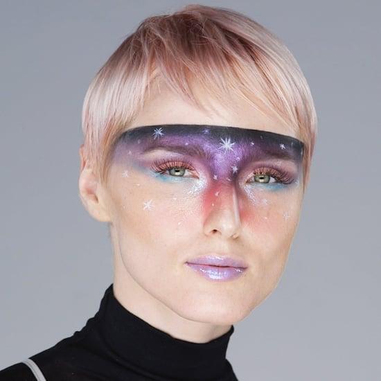 Beauty Tutorial Galaxy Look Halloween 2018