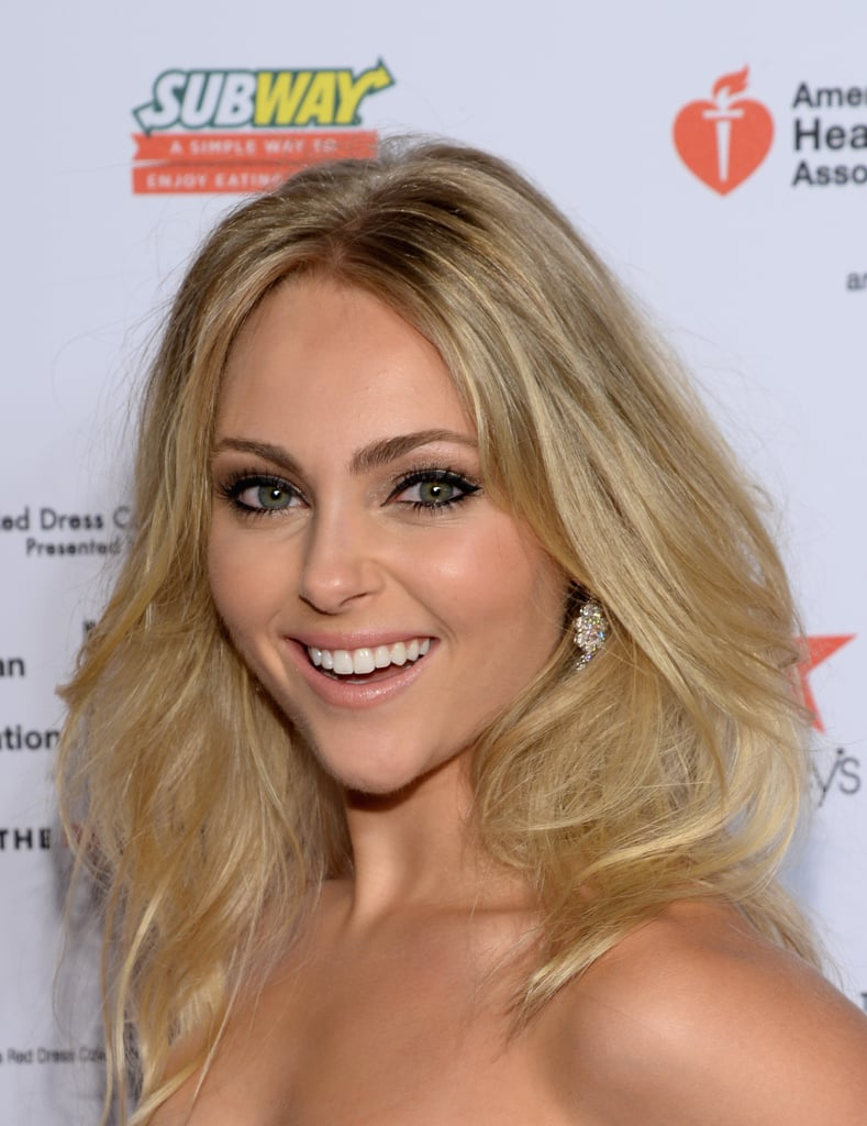 AnnaSophia Robb at the Red Dress Show