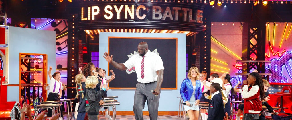 Shaq and Sarah Hyland Lip Sync Battle