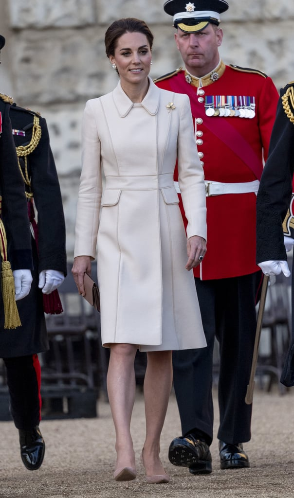 Kate Middleton at the Household Division Beating Retreat in London